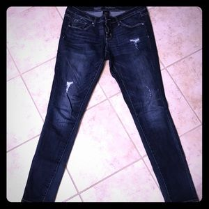 Distressed Mossimo Jeans